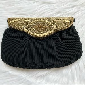 Vintage Beaded Evening Bag Clutch